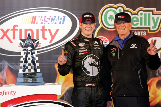 Joe Gibbs Conundrum: What to Do with NASCAR Truck Series Champ Erik Jones
