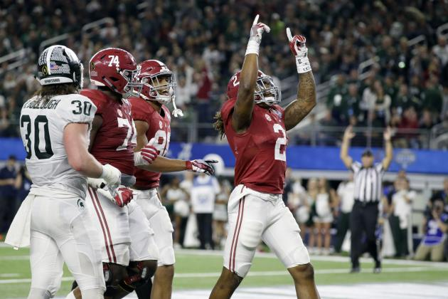 Derrick Henry Sets SEC Record for Most Rushing Touchdowns in Single Season