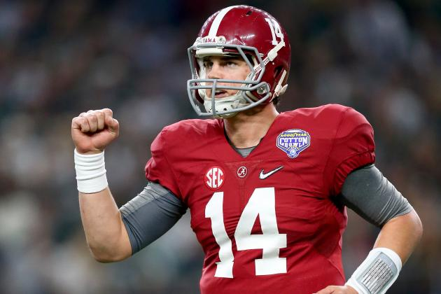 Cotton Bowl 2015: Game Grades, Analysis for Alabama vs. Michigan State