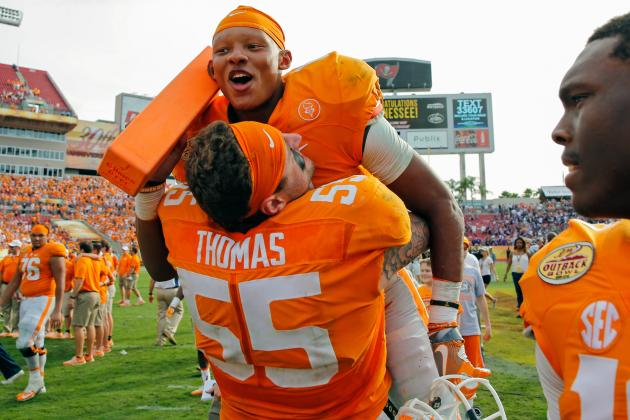 Tennessee's Big Outback Bowl Win Kicks off Vols' 2016 Hype Train
