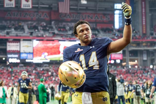 Snakebitten Notre Dame Ends Respectable Season with Fiesta Bowl Loss
