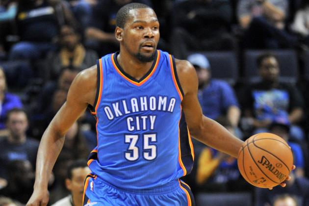 Kevin Durant: Latest News, Rumors and Speculation on Thunder SF