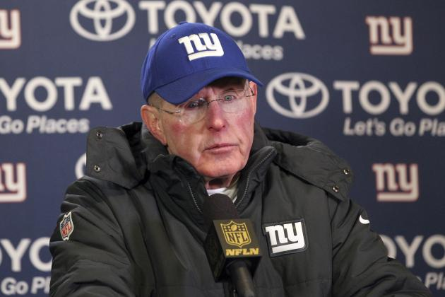 Tom Coughlin Reportedly Will Not Return as New York Giants Head Coach