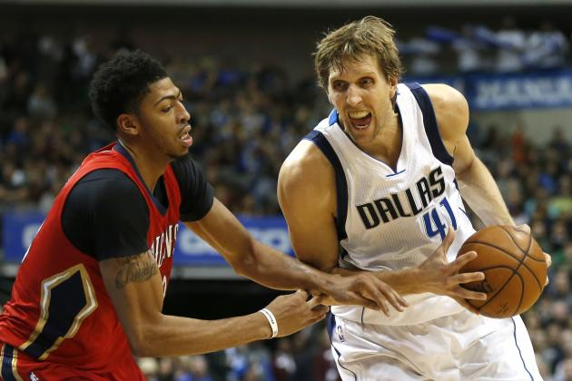 Dirk Nowitzki Comments on Foul Called on Zaza Pachulia