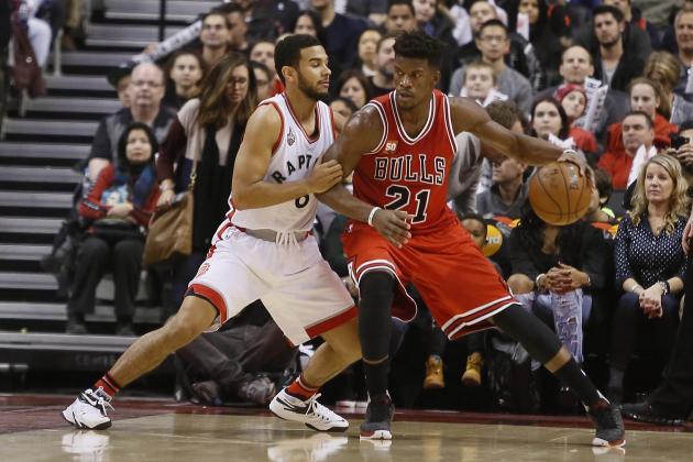 Jimmy Butler Breaks Michael Jordan's Bulls Franchise Record for Points in a Half