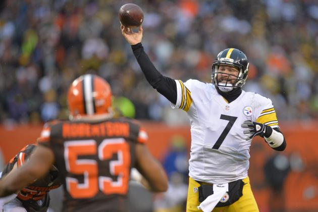 Steelers Deserve Playoff Berth but Live and Die with Ben Roethlisberger