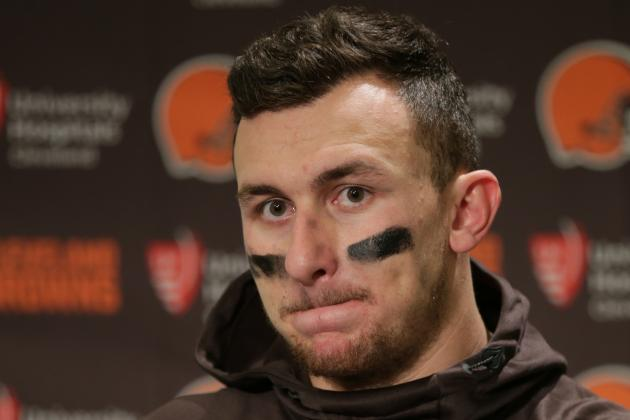 Job No. 1 for Browns' New Coach, GM: Give Up on Johnny Manziel as Cleveland QB