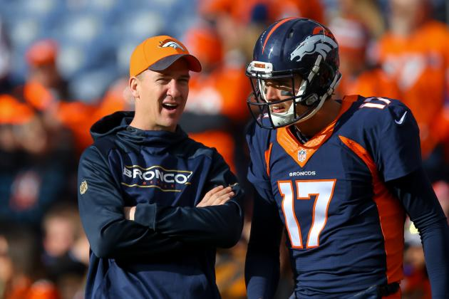 Peyton Manning vs. Brock Osweiler: Latest Updates on Broncos QB Battle