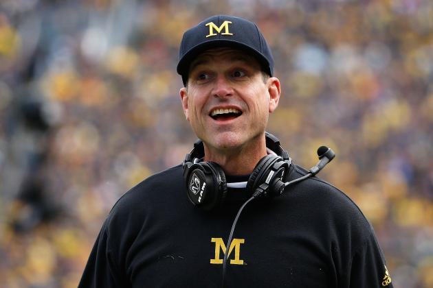 Jim Harbaugh Takes Apparent Shot at 49ers, Jim Tomsula After Firing
