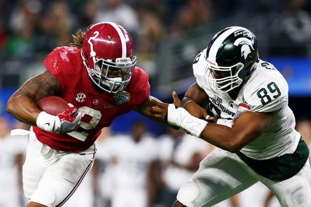 Nobody in College Football Finishes Better Than Alabama RB Derrick Henry