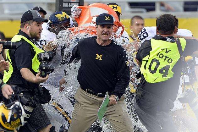 Jim Harbaugh's 1st Season at Michigan Should Scare the Rest of the Big Ten