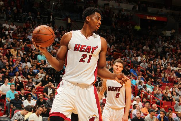 Miami Heat Face Excruciating Decision in Hassan Whiteside's 2016 NBA Free Agency