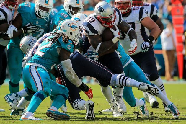 New England Patriots Lack of Running Game Could Be Playoff Weakness