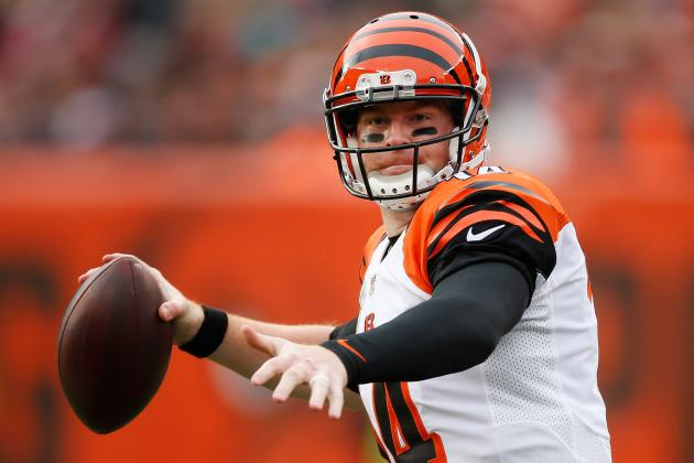 Andy Dalton Injury Update: QB Won't Start vs. Steelers in Wild Card Playoff Game