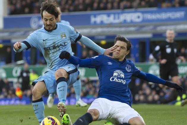 Everton vs. Manchester City: Team News, Predicted Lineups, Live Stream, TV Info