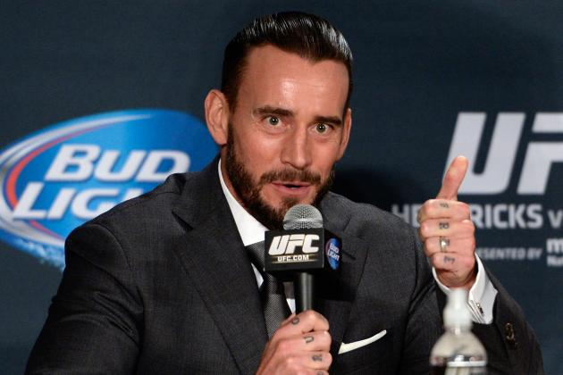 CM Punk's Potential UFC Debut Opponent Reportedly Spotted by Dana White