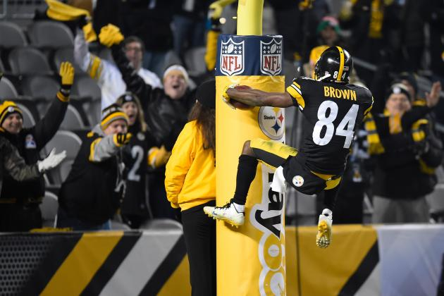 Steelers' Brown Sets 2-Year Record with 265 Receptions
