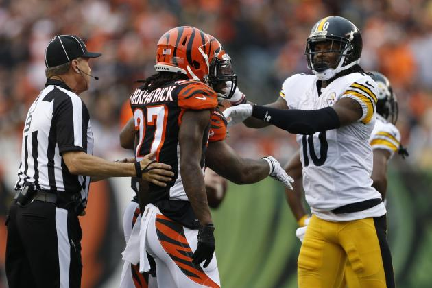 Bengals, Steelers Reportedly Issued Warning by NFL Before 2016 AFC Wild Card
