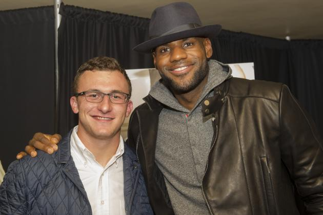 LeBron James Comments on Johnny Manziel After Las Vegas Rumors