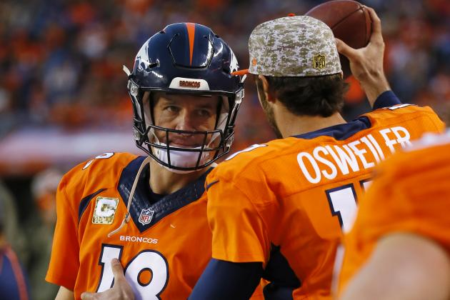 Denver Broncos Looking Forward to Peyton Manning Starting as Playoffs Near