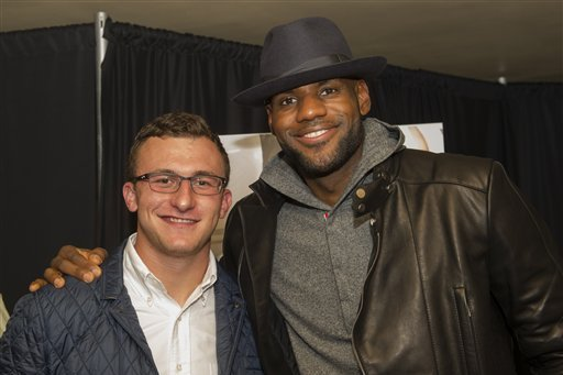 LeBron James' Marketing Agency, LRMR, Cuts Ties with Johnny Manziel