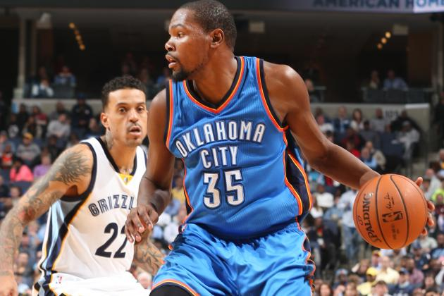 Memphis Grizzlies vs. Oklahoma City Thunder: Live Score, Highlights and Reaction
