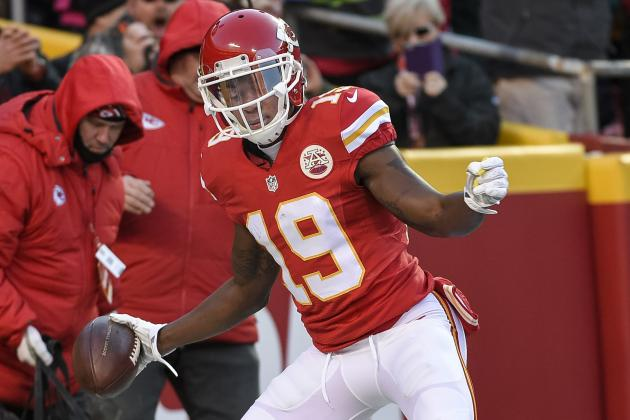 Jeremy Maclin Injury: Updates on Chiefs WR's Ankle and Return