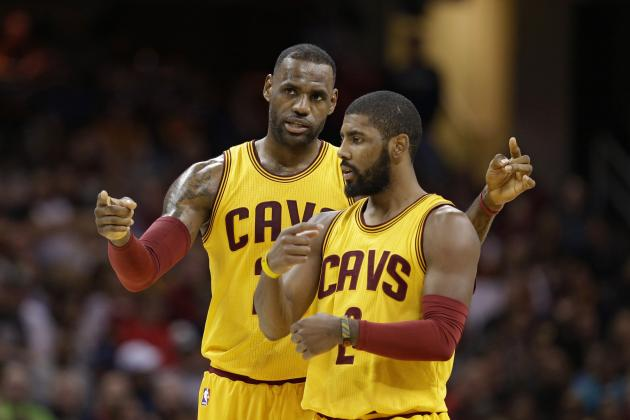 LeBron James Comments on Kyrie Irving's Place Among Top NBA Guards