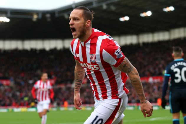 Marko Arnautovic Transfer Rumours: Latest News, Speculation on Stoke City Star