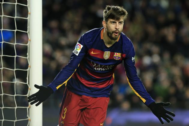 Gerard Pique Mocks Espanyol After Barcelona Beat Catalan Rivals in Copa Del Rey