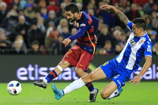 Arda Turan Shows Promise on Barcelona Debut Against Espanyol