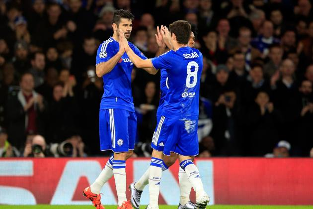 Diego Costa, Oscar Reportedly Involved in Training Ground Altercation