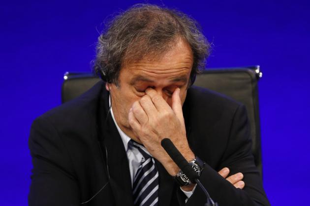 Michel Platini Announces He Is Withdrawing from FIFA Presidental Election