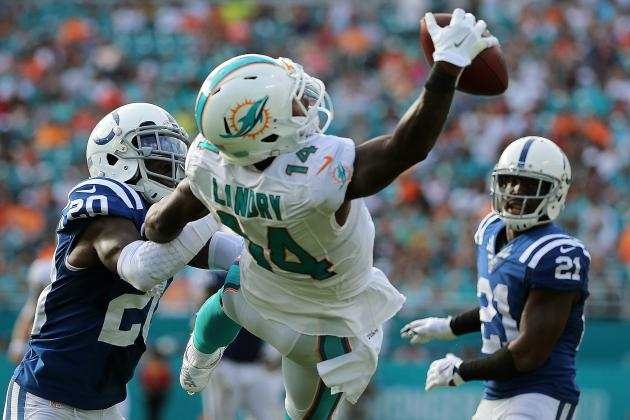 Landry Sets Record with 194 Catches Through 2 Seasons