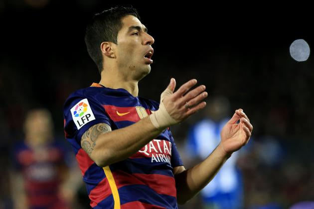 Luis Suarez Banned 2 Barcelona Matches After Reported Espanyol Incident