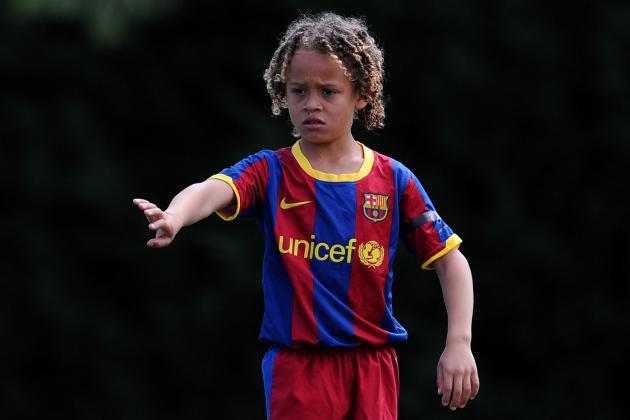 Chelsea Following the Progress of 12-Year-Old Barcelona Starlet Xavi Simons