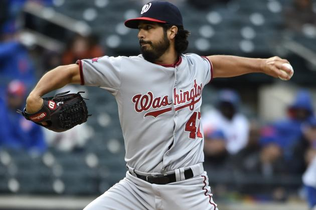 Gio Gonzalez Trade Rumors: Latest News, Speculation on Nationals P