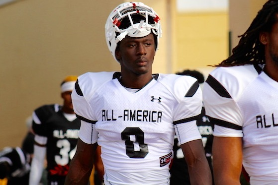 4-Star WR Cavin Ridley Tweets Decision to Enroll Early at Georgia
