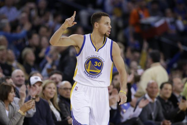 Stephen Curry Wears Shin Guard to Protect Leg Injury