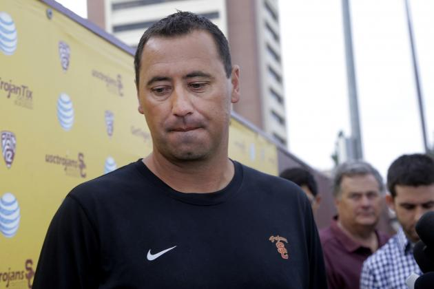 USC Responds to Steve Sarkisian's Wrongful-Termination Lawsuit