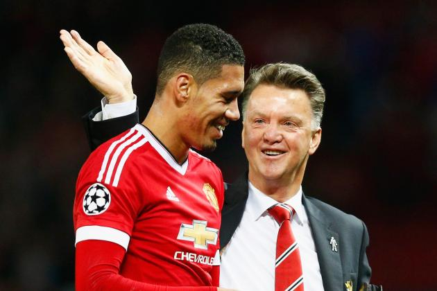 Louis van Gaal Nicknames Manchester United Defender Chris Smalling 'Pele'