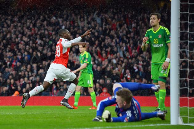Arsenal vs. Sunderland: Score, Reaction from 2016 FA Cup 3rd-Round Match