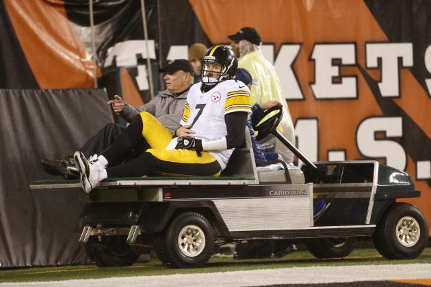 Steelers' Super Bowl Hopes Lie in Health of Big Ben After Ugly Wild-Card Win
