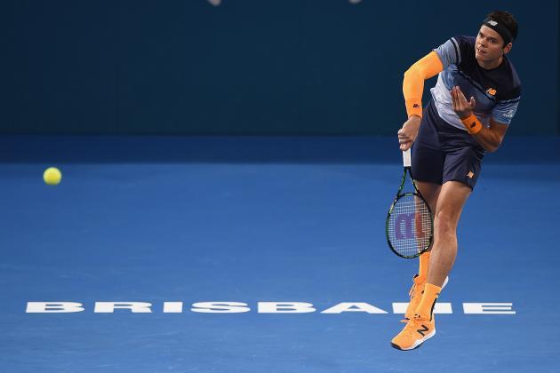 Brisbane International 2016: Roger Federer vs. Milos Raonic Score, Reaction