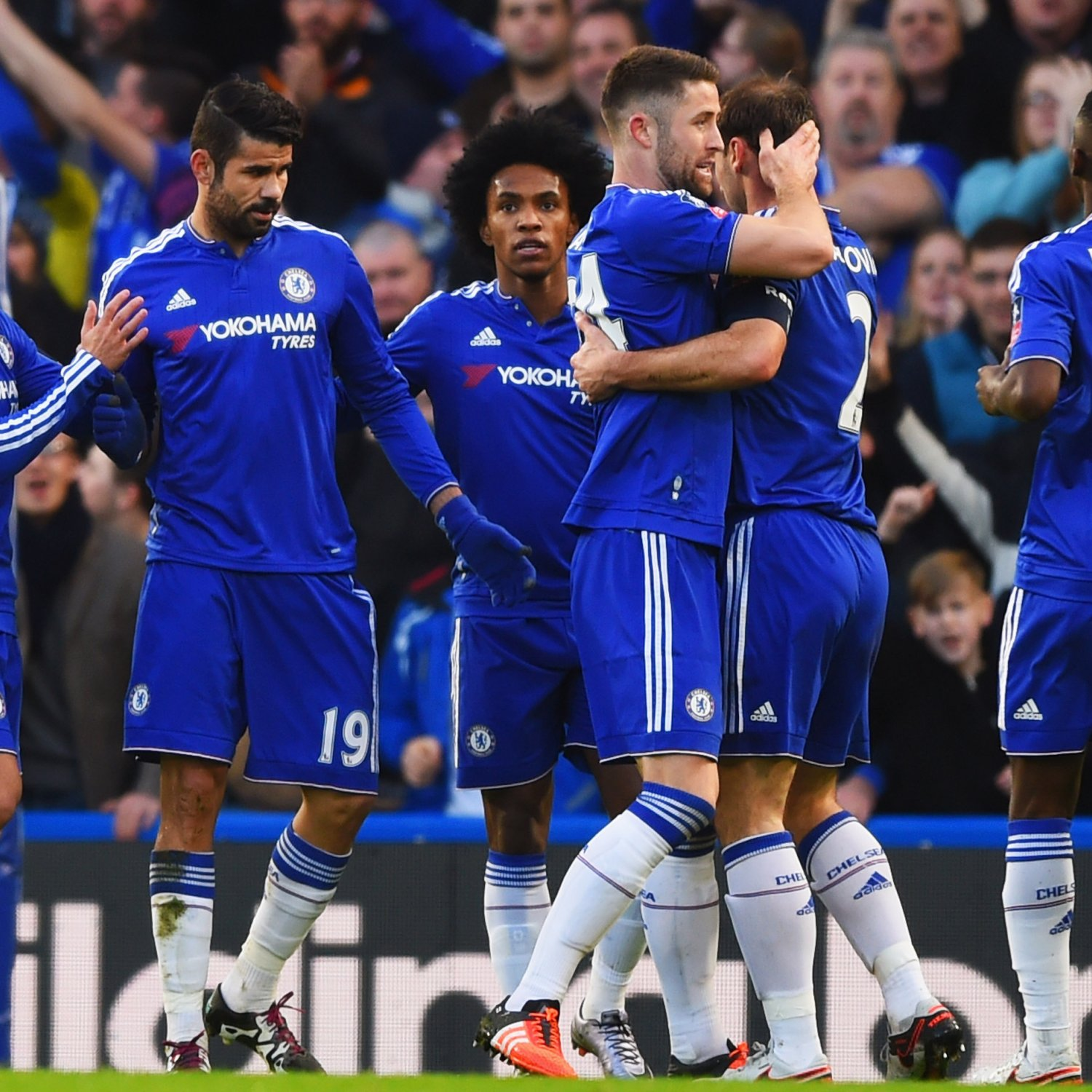 Chelsea Vs Tottenham Score Reaction From 2016 Premier: Chelsea Vs. Scunthorpe: Score, Reaction From 2016 FA Cup