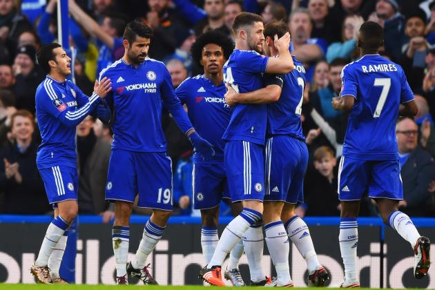 Chelsea vs. Scunthorpe: Score, Reaction from 2016 FA Cup 3rd-Round Match