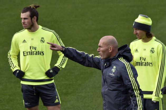 Gareth Bale and Luka Modric Comment on Zinedine Zidane After Real Madrid Win
