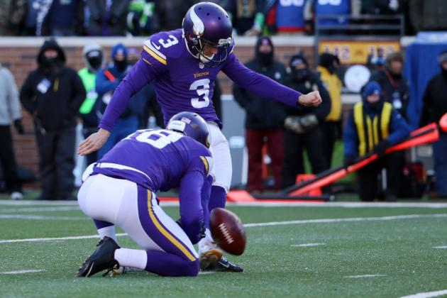 Blair Walsh Misses Game-Winning FG vs. Seahawks: Highlight and Twitter Reaction