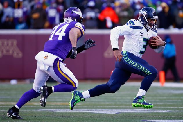 A Little Luck and a Lot of Russell Wilson Magic Keep Seahawks Alive