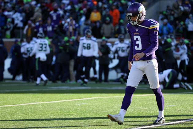 Blair Walsh Comments on Missing Potential Game-Winning Field Goal vs. Seahawks